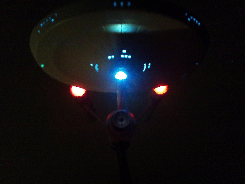 Artemis Designs Star Trek Revell TOS U.S.S Enterprise Bausatz inkl LED Beleuchtungsset