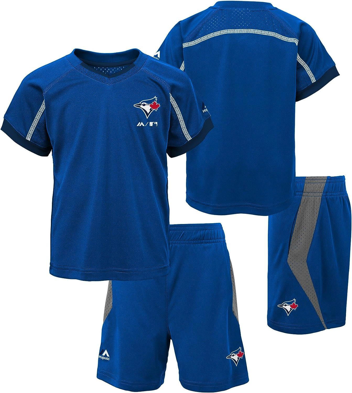 Toronto Blue Jays Preschool Legacy T-Shirt and Short Set