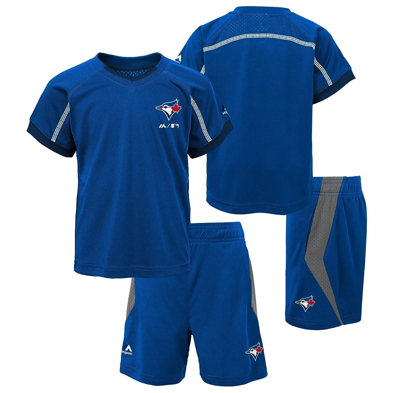 Toronto Blue Jays Preschool Legacy T-Shirt and Short Set Majestic