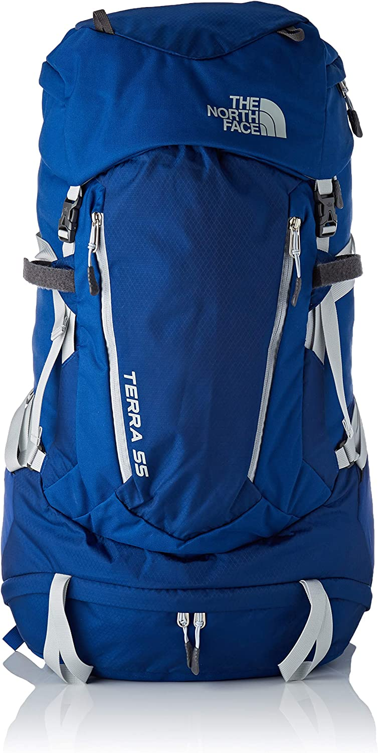The North Face W Mochila Terra 55 para Mujer, Sodalite Blue/High ...