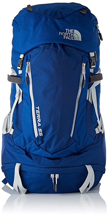 The North Face W Terra 55, Mochila para Mujer, (Dark Blue/White