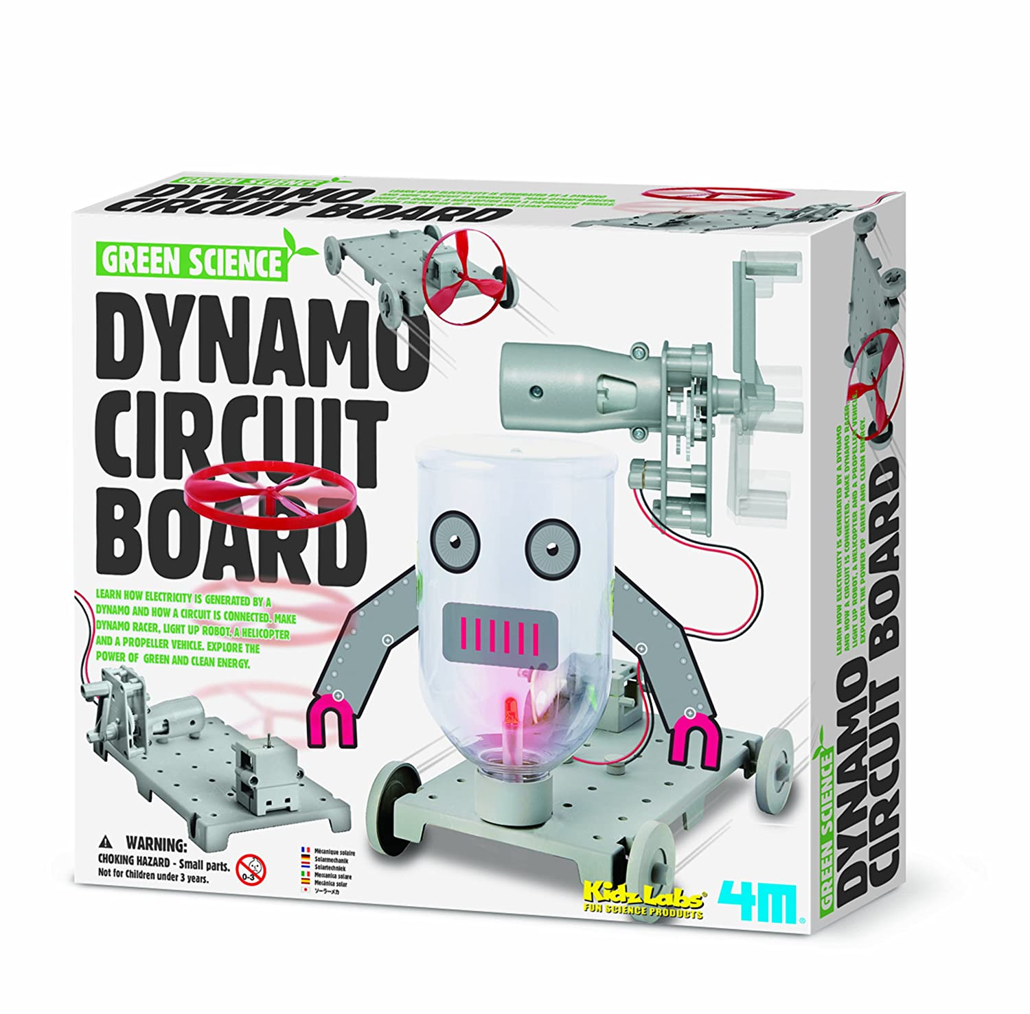 Learn About Circuit Boards 4m Dynamo Board Toys Games