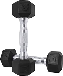CAP Barbell Coated Hex Dumbbell Weights