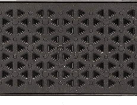 Joint int/égr/é Syst/ème Clic.Dimensions:long100 cm,larg13 cm,prof7 cm.Couleur noir. Caniveau de drainage terrasse syst/ème A15 Grille plastique