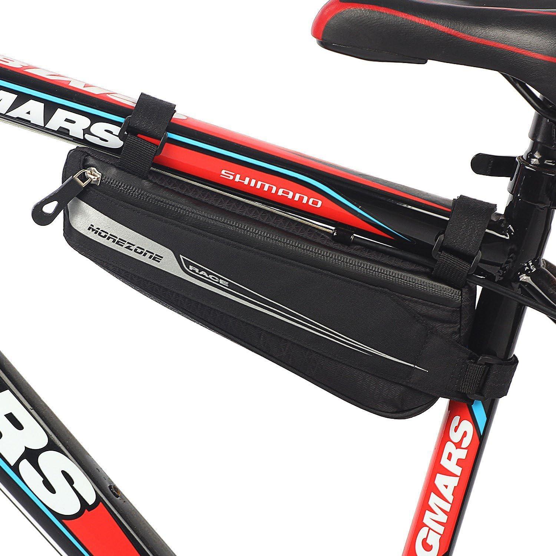 Bolsa Bicicleta MOREZONE Bolsa Triángulo Bici Material Jacquard ...
