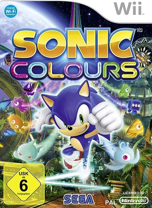 SEGA Sonic Colours, Wii - Juego (Wii, Nintendo Wii, Acción ...