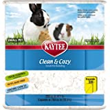 Kaytee Clean and Cozy Super Absorbent Paper Bedding, Small, 13.9 Litre, White