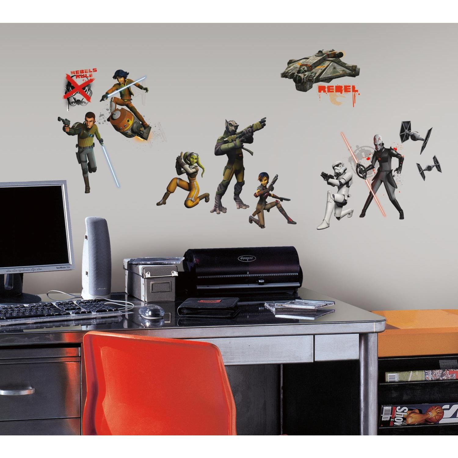 RoomMates RMK2622SCS Star Wars Rebels Peel And Stick Wall Decals      Amazon.com Part 34
