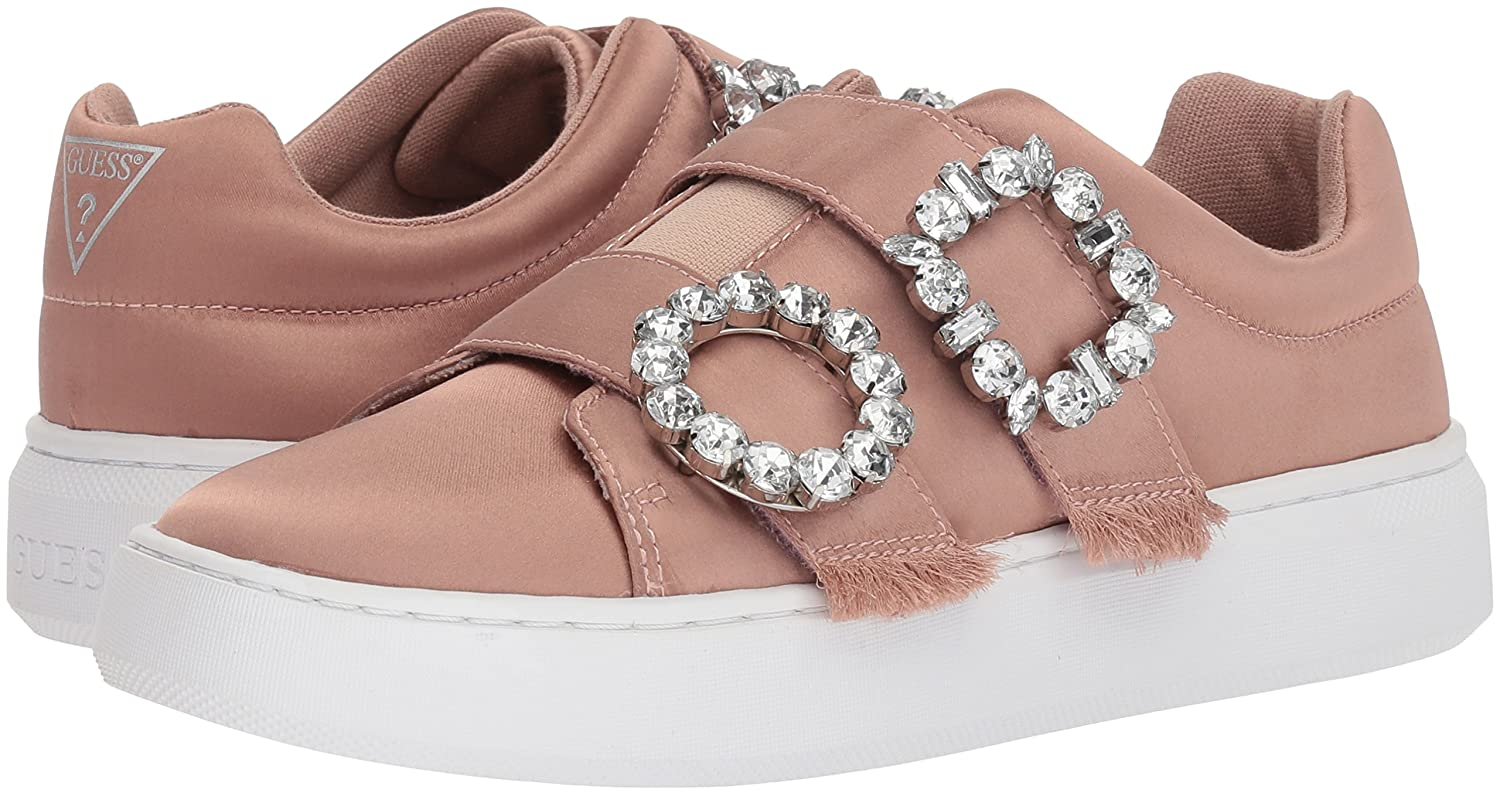 GUESS Women's Freeform Sneaker B074VK2FRT Pink 8.5 B(M) US|Light Pink B074VK2FRT 509464