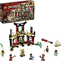 LEGO 71735 NINJAGO Legacy Tournooi van Elementen Tempel Bouwset met Battle Arena en Verzamelbare Gouden Ninja Lloyd…