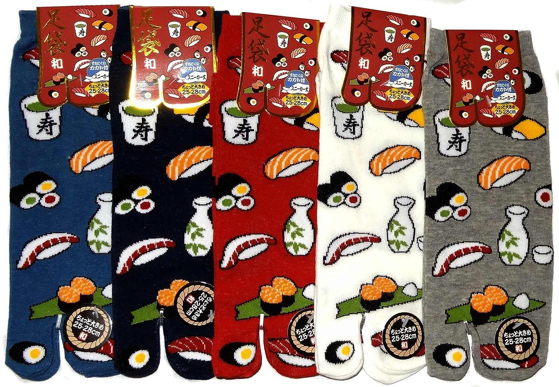 Chaussettes japonaises Tabi Sushi /& Co Du 39 au 43 Japonmania