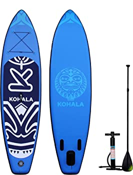 DV SPORT Inflatable 10` Stand Up Paddle Board