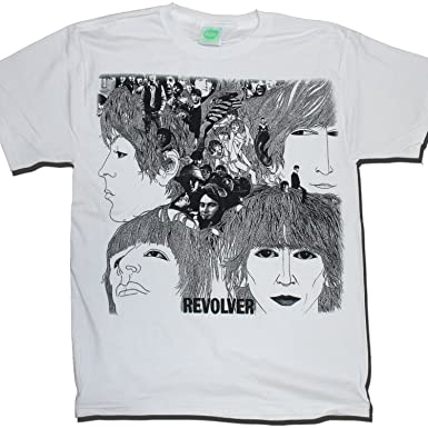 with the beatles t shirt