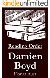 Damien Boyd - Reading Order Book - Complete Series Companion Checklist (English Edition)
