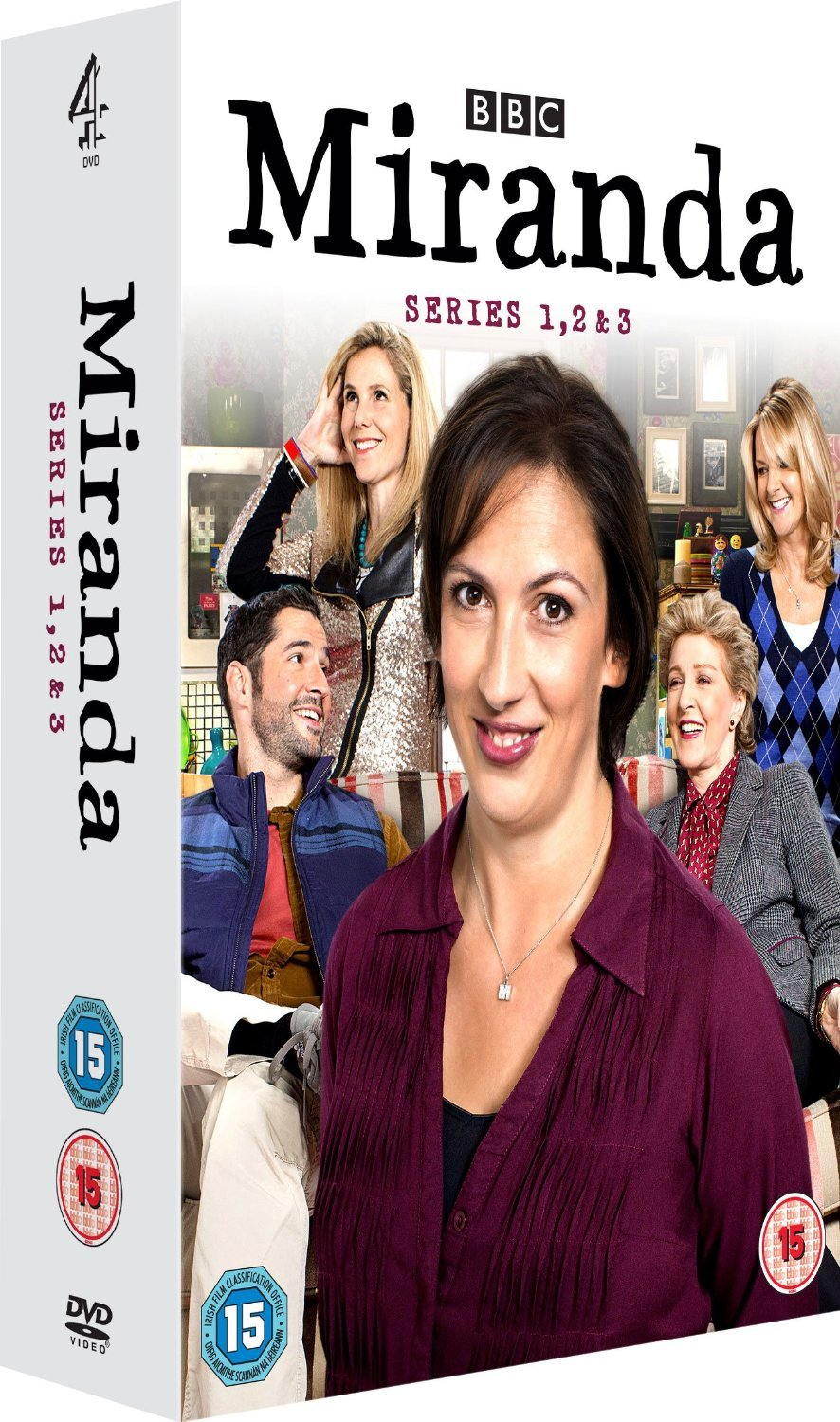 Miranda - Series 1-3 box set [UK import, region 2 PAL format]