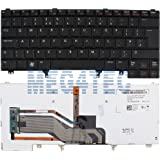 DELL LATITUDE E5420 E6220 E6320 E6420 XT3 BACKLIT KEYBOARD UK LAYOUT 52PX4 F105