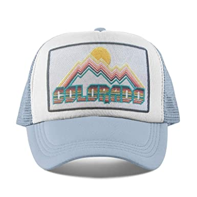 68c7438f0 Amazon.com: Colorado Kids Hat - Retro Infant Hat/Baby Hat/Toddler ...