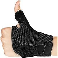 bonmedico Forte flexibele duimbrace, duimspalk voor duimgewricht, zwart