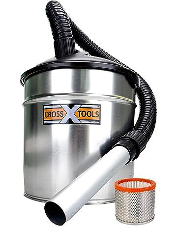 Cross Tools aspirador de cenizas y chimeneas CAS 1100 EU con escudo térmico 68518
