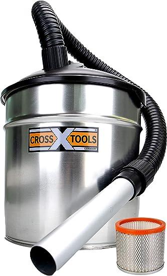 Cross Tools aspirador de cenizas y chimeneas CAS 1100 EU con ...