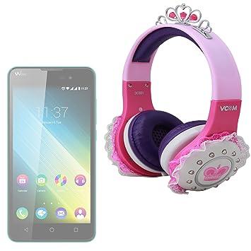 DURAGADGET Auricular Audio niño para Smartphone Wiko b-kool (Be ...