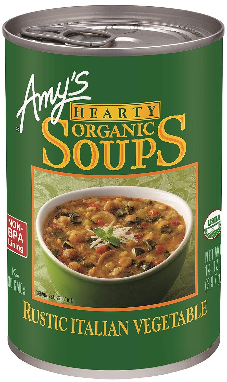 Amy's Organic Soups, Hearty Rustic Italian Vegetable, 14 oz