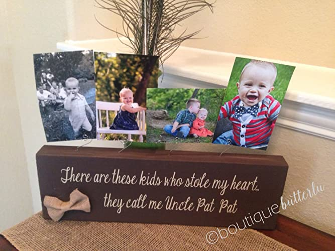 Amazon.com: Uncle Gift Uncle Picture Frame Personalized Uncle ...