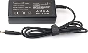 UNAWUDOH New Dell Original Laptop Charger 65W watt 4.5mm tip AC Power Adapter(Power Supply) with Insp-Iron 3551 3552 3558 3559 5551 5552 5555 5558 5559 5565 5567 5568 5578 7558 7568 Power Supply Cord