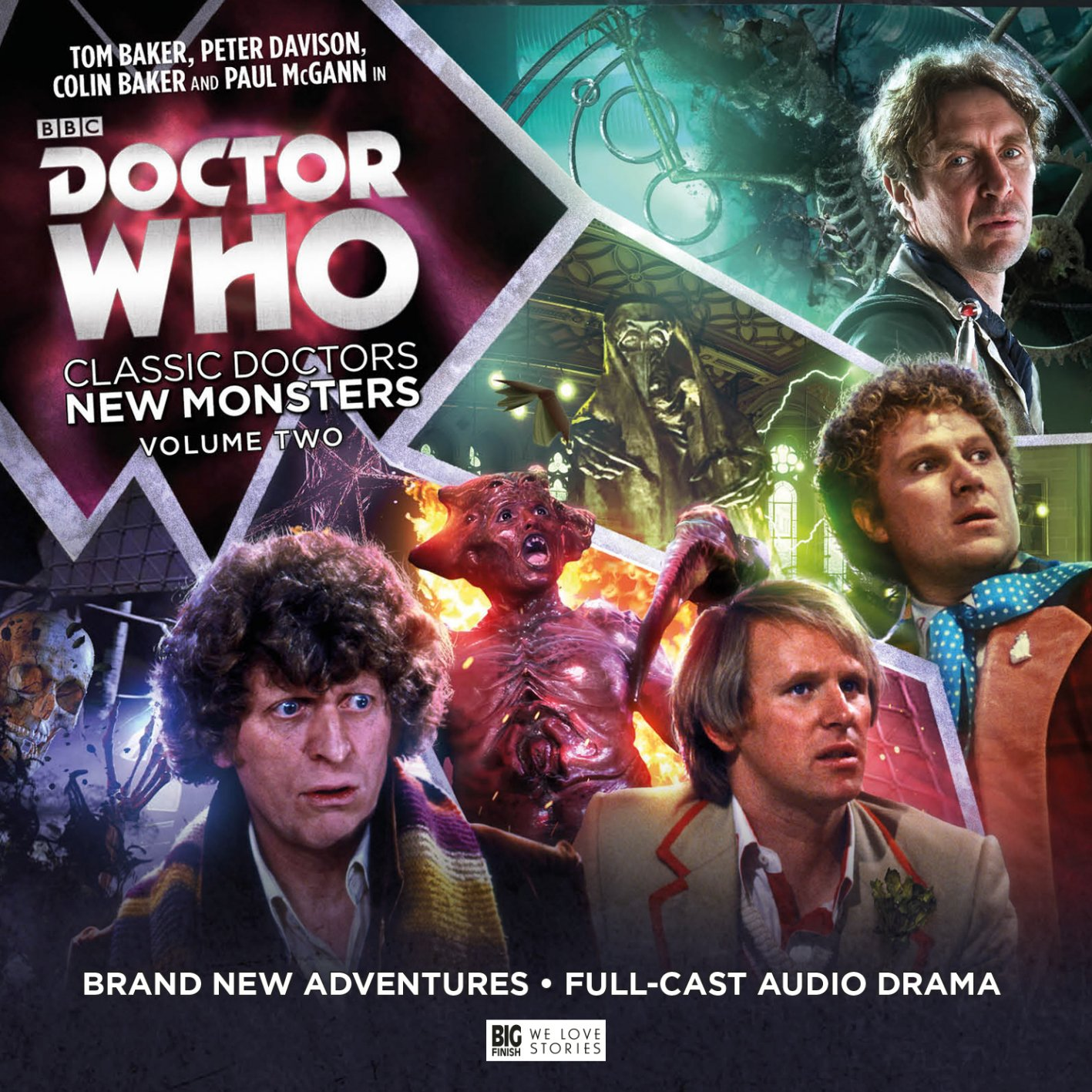 Download Doctor Who - Classic Doctors, New Monsters: Volume 2 pdf