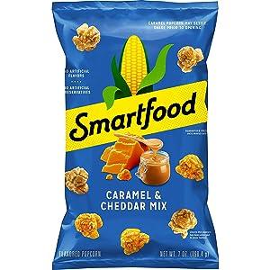 Smartfood Cheddar & Caramel Mix Popcorn, 7 Ounce (Packaging May Vary)