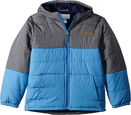 98710d48e Columbia Kids Boy's Puffect¿ Jacket (Little Kids/Big Kids) Collegiate Navy  Heather
