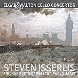 Elgar:Cello Concertos [Steven Isserlis; Philharmonia Orchestra , Paavo Jarvi] [HYPERION: CDA68077]