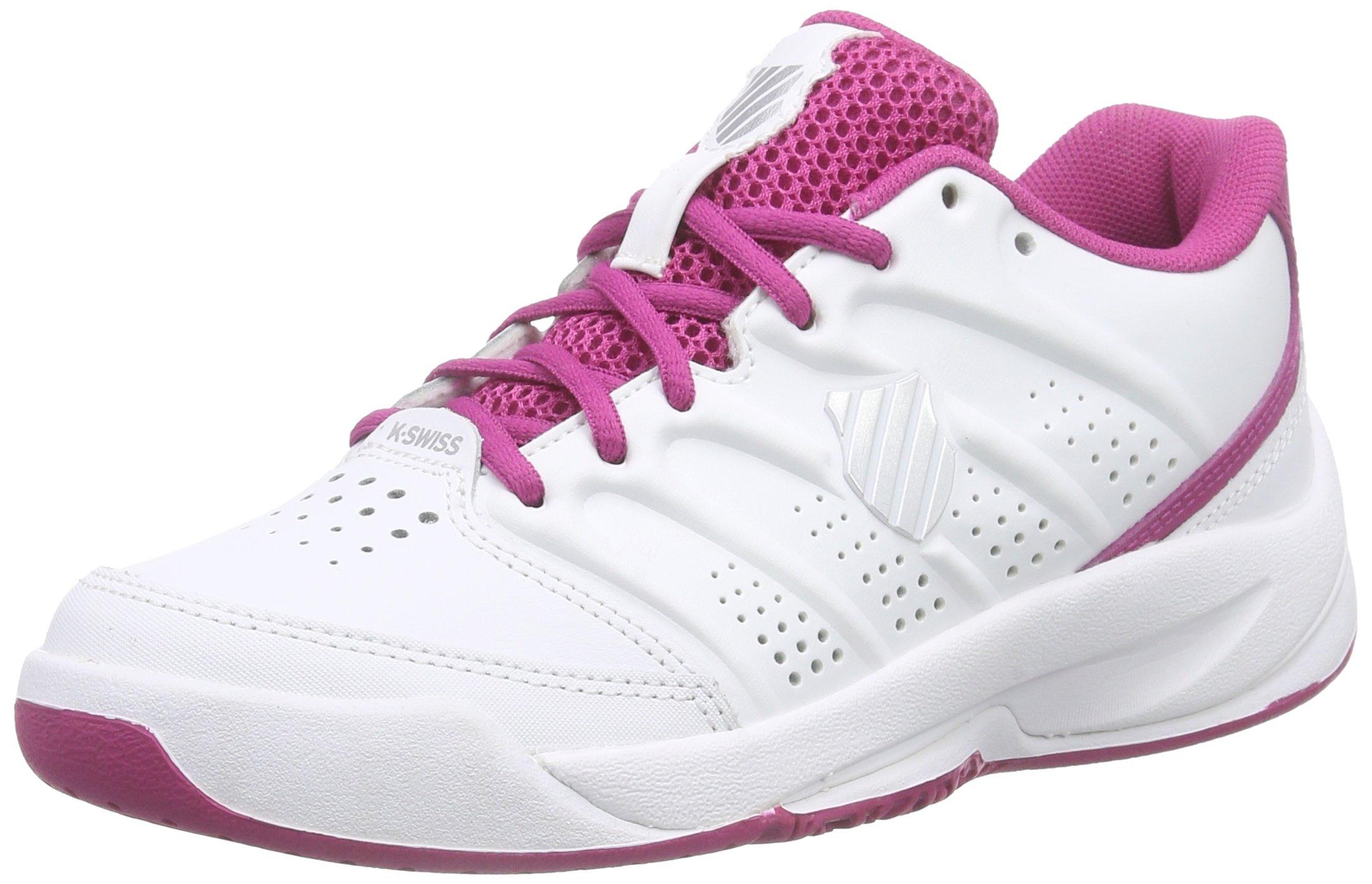K-Swiss Ultrascendor Omni Junior Tennis Shoes, White, US10.5