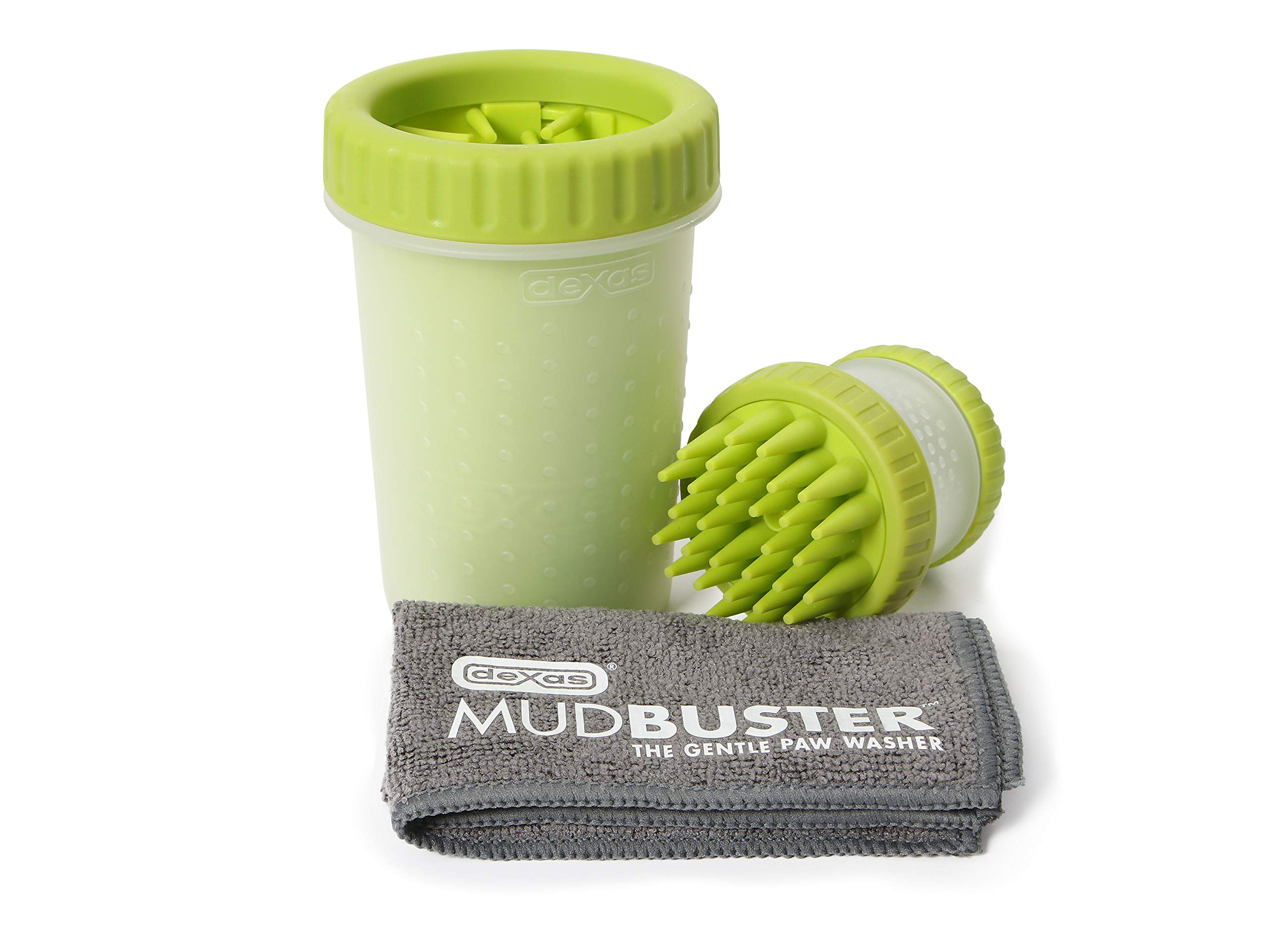 Dexas PW710730383Q Medium Green MudBuster, ScrubBuster and Towel