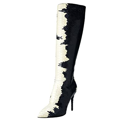 Amazon.com  Giuseppe Zanotti Design Women s Python Skin High Heel ... 31f7bf155be6