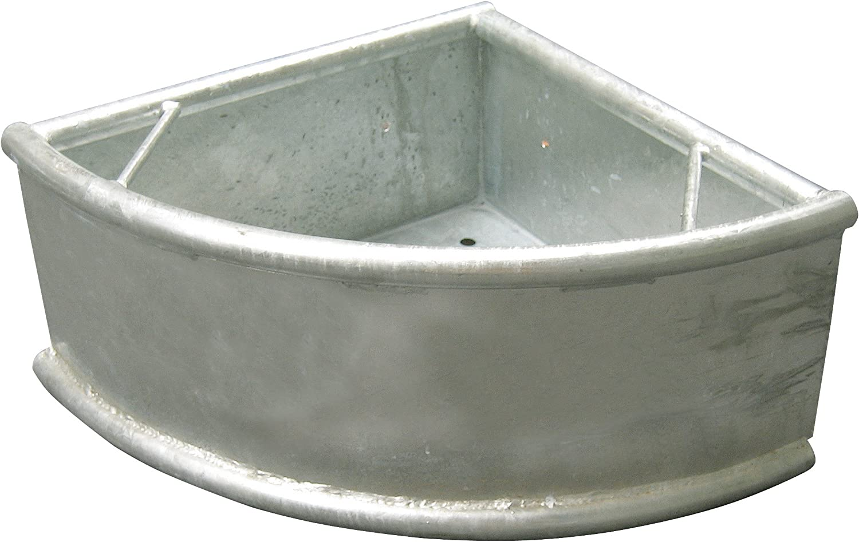 Kerbl 32482Triángulo trog, Dura, galvanizado