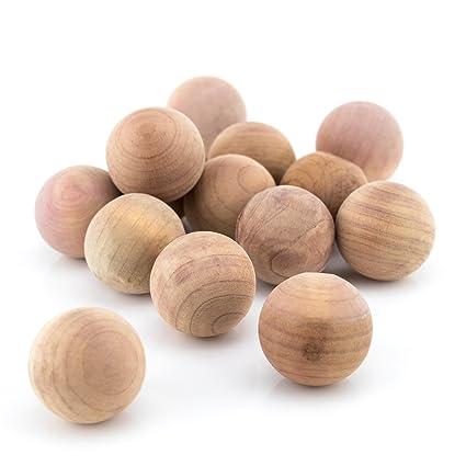 Hangerworld- 20 Palline antitarme in legno di cedro: Amazon.it: Casa ...