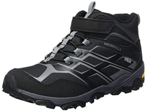 Good Prices exquisite design limpid in sight Merrell Boys' Moab FST Mid a/C Arctic Grip Waterproof Snow Boots