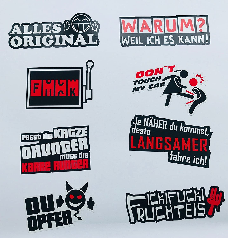 10cm!AUFKLEBER-STICKER Logo-Daihatsu AC048 UV/&Waschanlagenfest Auto KFZ bunt