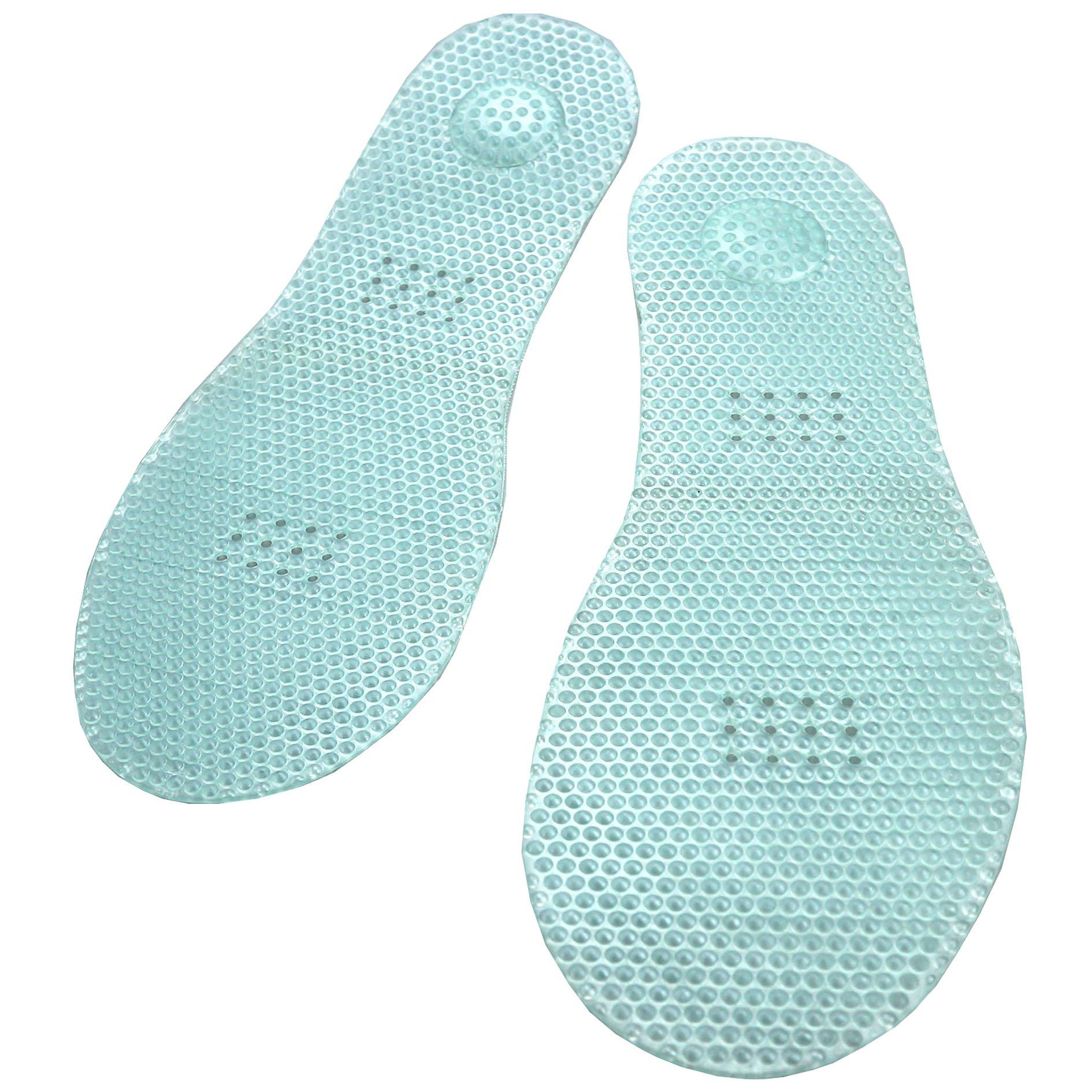 JBS Embossing Massage Shoe insole Anti Athlete's Foot Acupressure Anti-Odor Size Adjustable 7 ~10