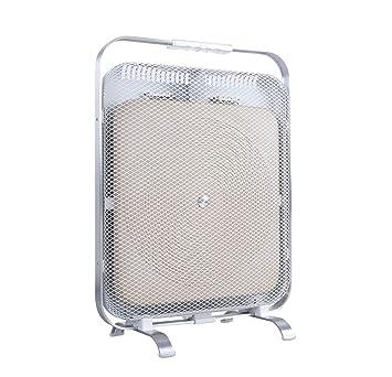 BioSari - Estufa de Infrarrojos con mármol | Estufa de bajo Consumo | Ambiente Seco y Suave | Silenciosa | 3 Años de garantía (Blanco): Amazon.es: Hogar