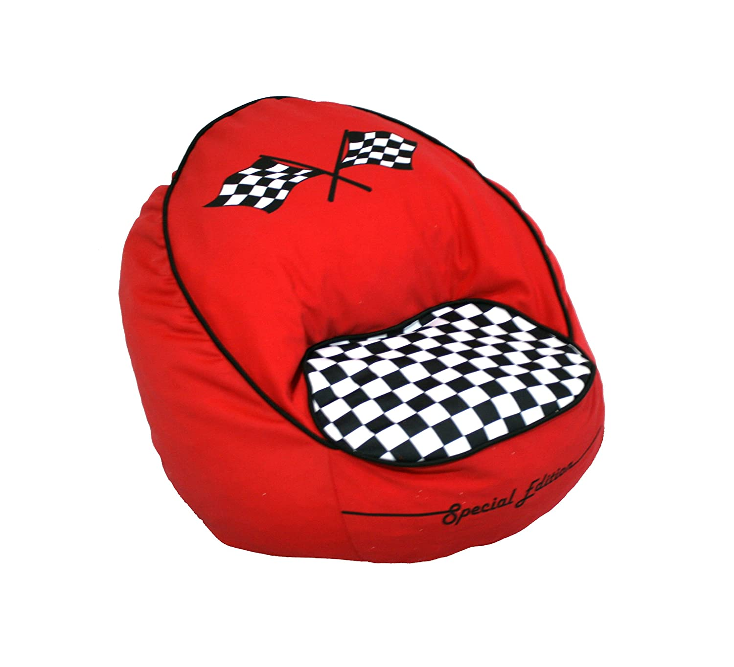 Amazon Newco Kids Race Car Bean Chair Red Baby