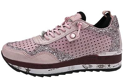 half off 15a6c 30250 Cetti Damen Sneaker Rosa C848 Omega Neo Rosa, EU 40: Amazon ...
