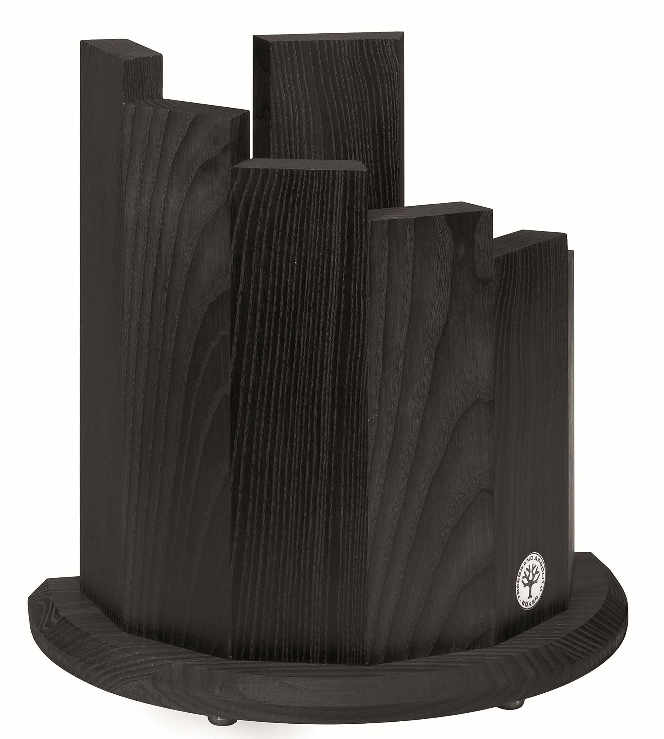 Boker 30400 Wood Magnetic Knife Block, Black