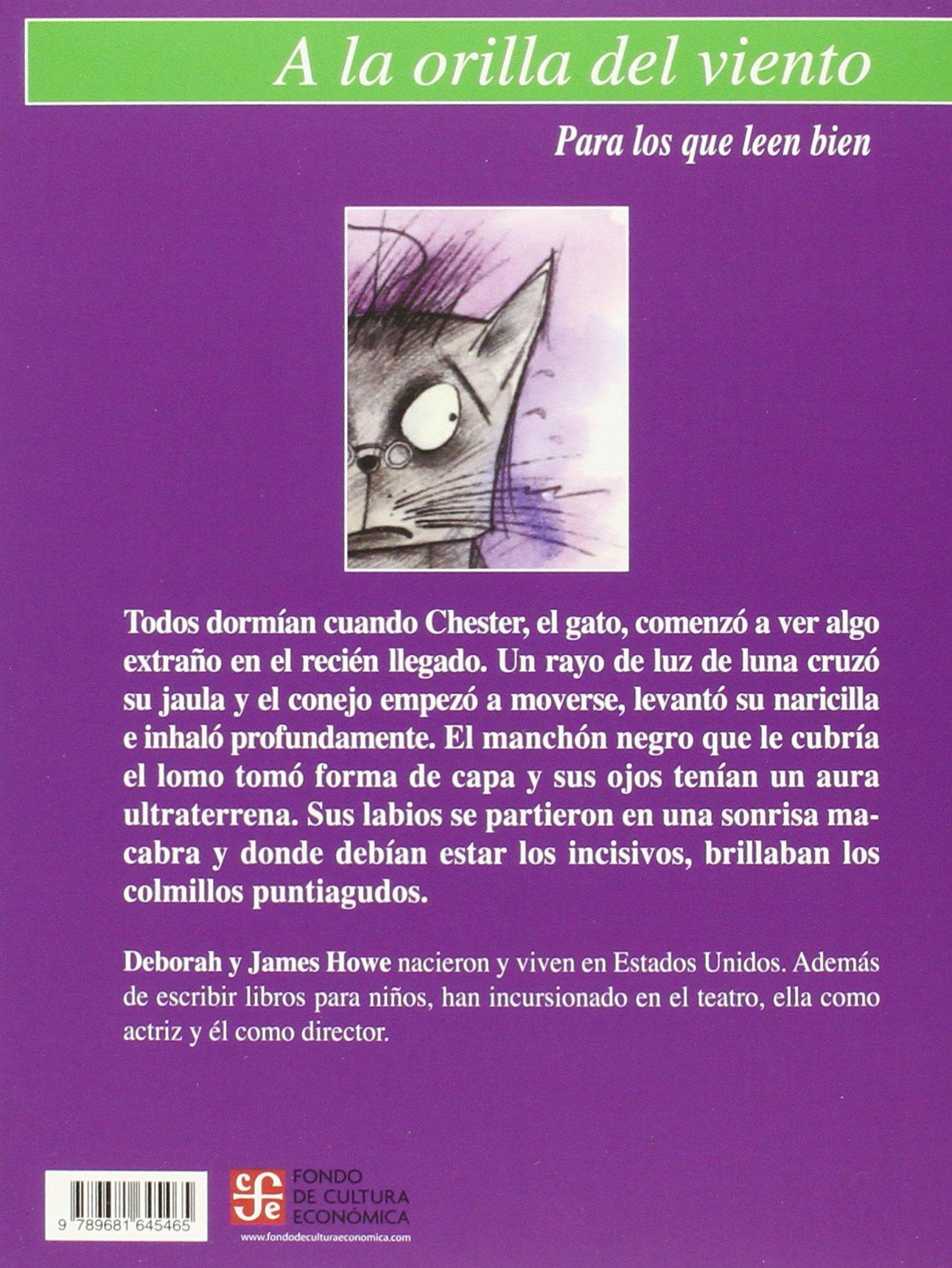 Amazon.com: Bonícula: una historia de misterio conejil (9789681645465): Howe Deborah y James Howe, Francisco Nava Bouchain: Books