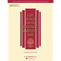 Easy Songs for the Beginning Baritone/Bass (Easy Songs for Beginning Singers) book cover