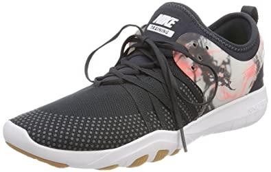 20e038a8ca7aa Image Unavailable. Image not available for. Color  NIKE Womens Free TR 7  Anthracite Anthracite-White-Lava Glow ...