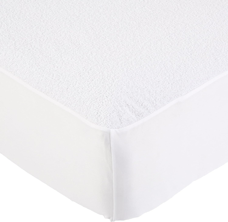 Molton kalmuck Mattress Protector 200//210 cm Protection Cover kneer Q86 100/% Cotton