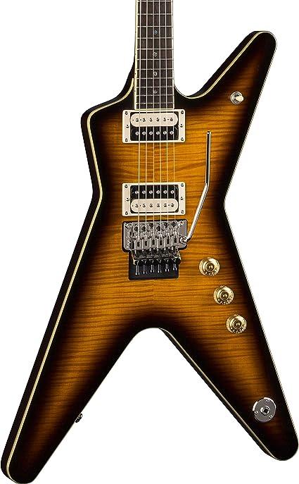 Dean ML 79 F TBZ - Guitarra eléctrica, color amarillo: Amazon.es ...