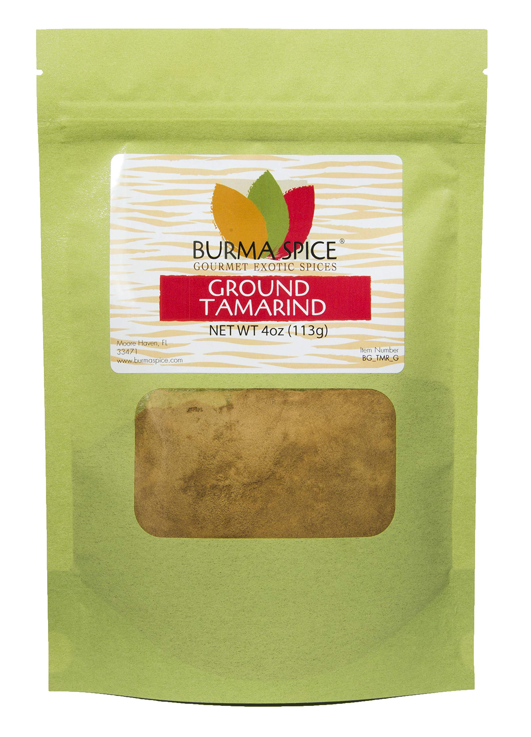 Ground Tamarind : Indian Spice, No Additives, Pure Powder (4oz.)